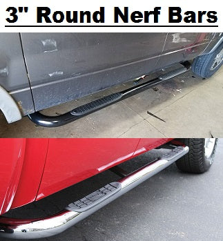 "TrailFX 3"" Round Nerf Bars Mazda-Auto Accessories Guru .COM"
