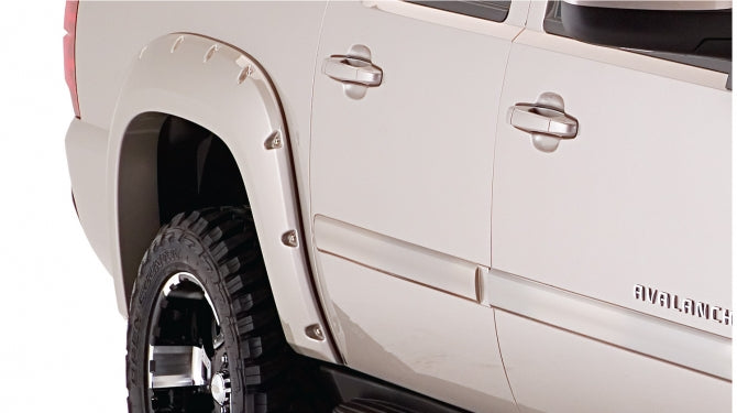Bushwacker 40932-02 Pocket Style Fender Flares Chevy Avalanche 07 08 09 10 11 12 13