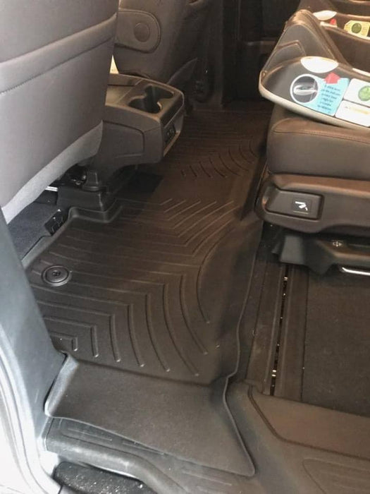 WeatherTech® 4412182 Floor Liners 18-19 Honda Odyssey BLACK 1st and 2nd Row Set