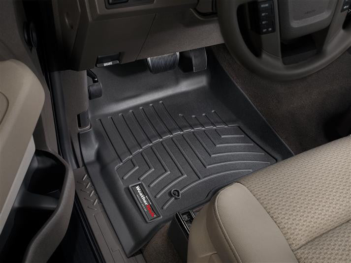 WeatherTech-441791-Ford F-150 SuperCrew 09-10 FRONT WeatherTech Digital Fit Floorliners-AutoAccessoriesGuru.com