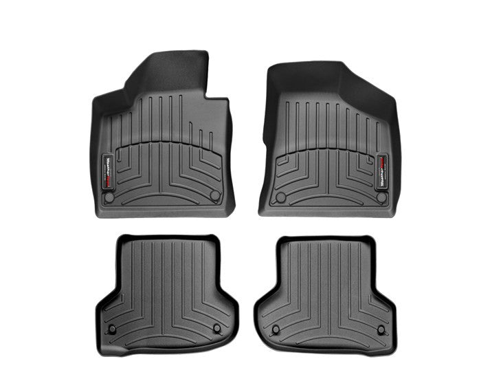 WeatherTech-44218-1-2-Audi A3 06-11 FRONT & REAR WeatherTech Digital Fit Floorliners-AutoAccessoriesGuru.com