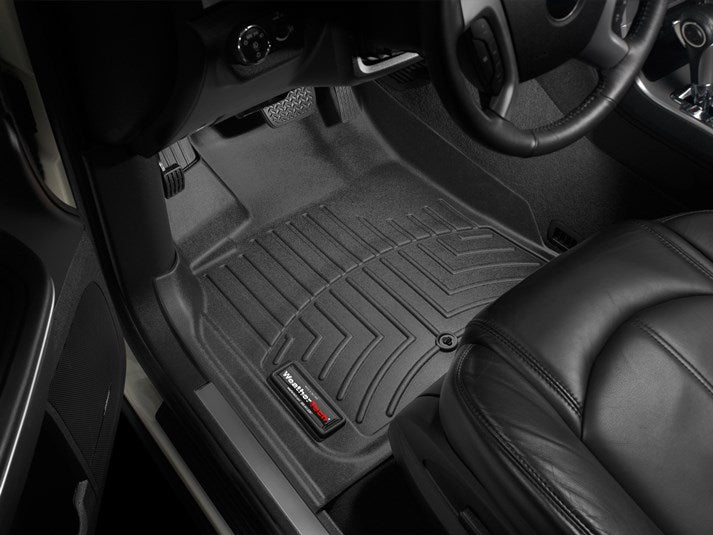 WeatherTech® 442511-441112 GMC Acadia 07-16 BLACK Floor Liner Set