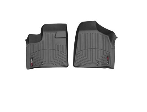 WeatherTech 444211 Digital Fit Floor Liners Chrysler Town and Country Van 2011 2012 2013 2014 2015 2016 Front 2 Piece Black Mats