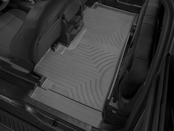 WeatherTech® 446971-446975 Ford F-150 15-17 SuperCab BLACK Full Set