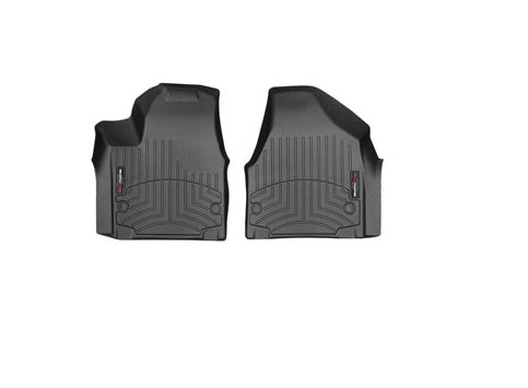 WeatherTech 449451 Digital Fit Floor Liners 2017 2018 17 18 Chrysler Pacifica Front Black