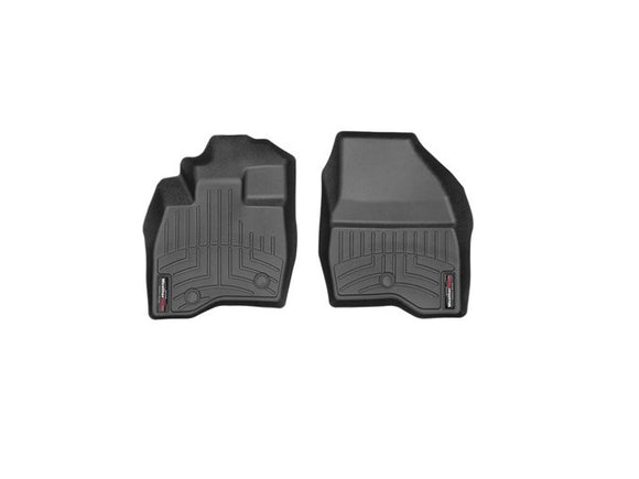 WeatherTech 449811 Front Custom Fit Floor Mats Liners 2017 2018 Ford Explorer BLACK