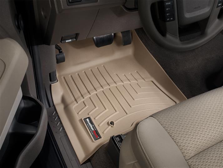 WeatherTech-451791-Ford F-150 SuperCrew 09-10 FRONT WeatherTech Digital Fit Floorliners-AutoAccessoriesGuru.com