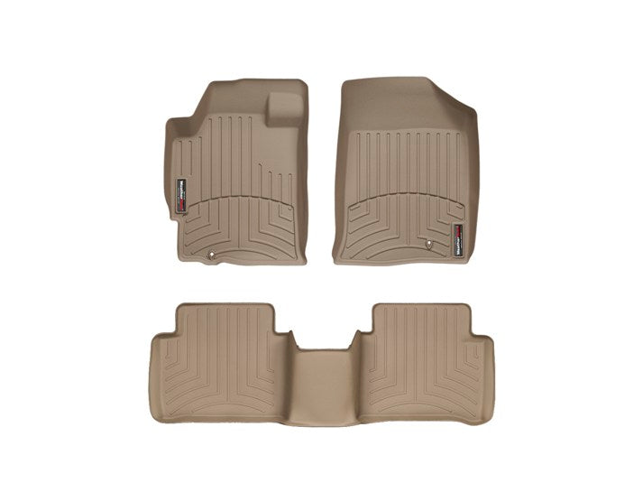 WeatherTech® 451961-451182 Nissan Altima 07-13 TAN Full Set