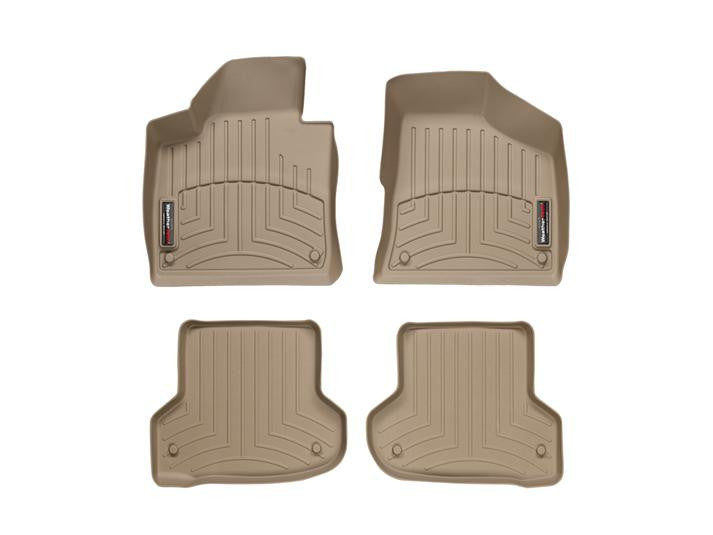 WeatherTech-45218-1-2-Audi A3 06-11 FRONT & REAR WeatherTech Digital Fit Floorliners-AutoAccessoriesGuru.com