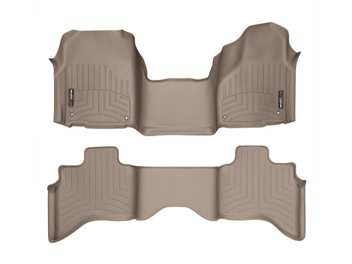 WeatherTech® 454641-452162 RAM 1500/2500/3500 Quad Cab 12-18 TAN Full Set