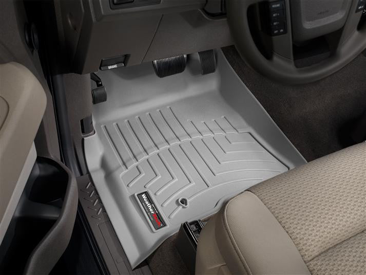 WeatherTech-461791-Ford F-150 SuperCrew 09-10 FRONT WeatherTech Digital Fit Floorliners-AutoAccessoriesGuru.com