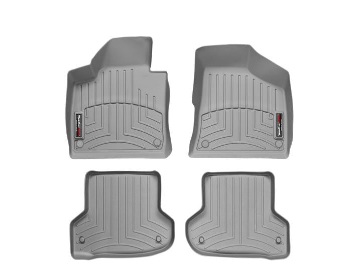WeatherTech-46218-1-2-Audi A3 06-11 FRONT & REAR WeatherTech Digital Fit Floorliners-AutoAccessoriesGuru.com