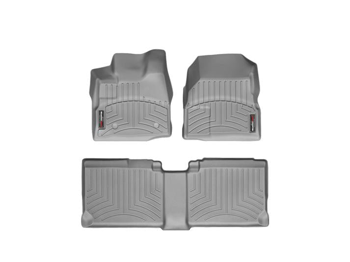 WeatherTech® 463461-462712 GMC Terrain 11-17 GRAY Floor Liners Set