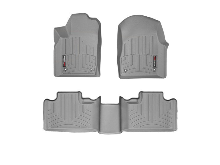 WeatherTech® 464851-463242 Dodge Durango 12-15 GRAY Full Set