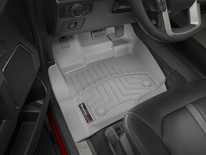 WeatherTech® 466971 Ford F-150 15-17 FRONT/GRAY Floor Liners
