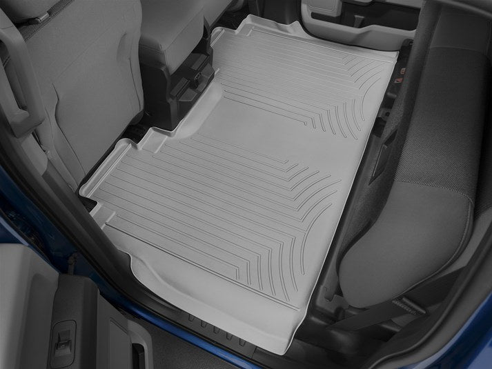 WeatherTech® 467931-466974 Ford F-150 15-17 Crew Cab GRAY Full Set