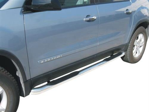 "GMC Acadia 07-16 STAINLESS 3"" Step Bars Trail FX # 470140"