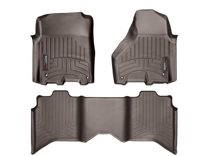 WeatherTech® 474781-472163 RAM 1500/2500/3500 Crew 12-18 COCOA Full Set