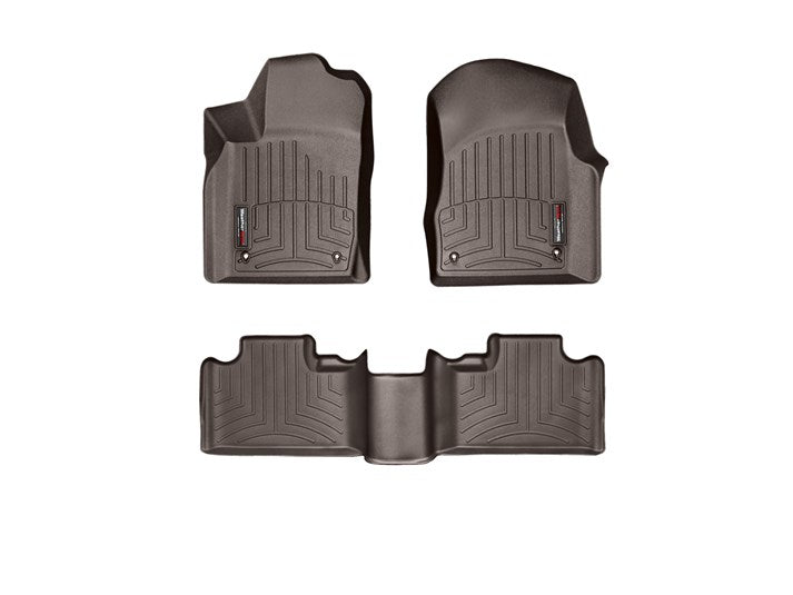 WeatherTech® 474851-473242 Dodge Durango 12-15 COCOA Full Set