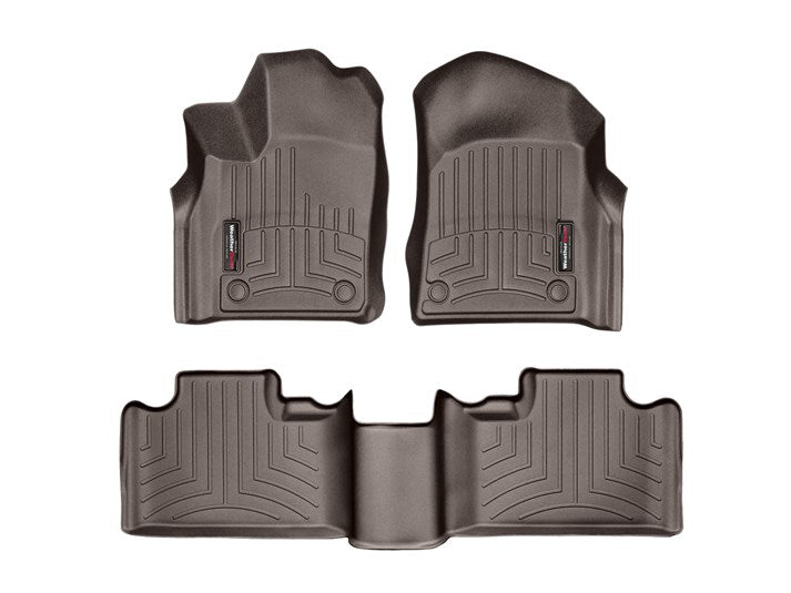 WeatherTech® 479301-473242 Jeep Grand Cherokee 16-18 COCOA Full Set