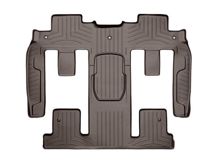 WeatherTech Digital Fit Floor Liners 472511-479423 Cocoa Front and Rear 11 12 13 14 15 16 17 Chevy Chevrolet Traverse w/ 2nd Row BUCKET SEATS