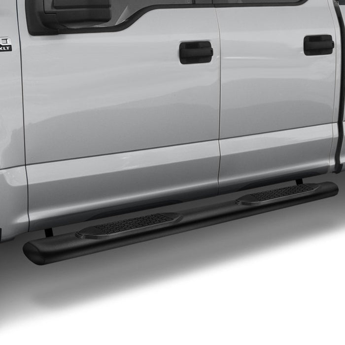 "TrailFX® A1501B 4"" BLACK Oval Step Bars 