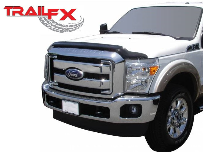 TrailFX® 5059X Hood Protector Bug Shield | 11-16 Ford F-250/350/450