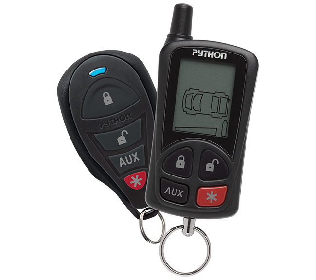 Python 5305P 2-Way LCD Confirming Remote Start/Alarm Combo w/ Siren 1/4 Mile Range Installation Included Grand Rapids, MI