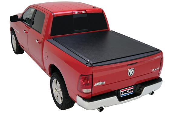 "TruXedo® 545901 Lo Pro Soft Rolling Bed Cover | 09-18 Dodge Ram 5'7"" Bed"