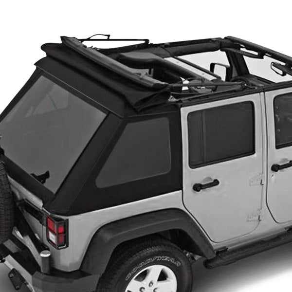 Bestop 54923-17 TrekTop NX Glide Convertible Soft Top | Jeep Wrangler 4-Door 07-17
