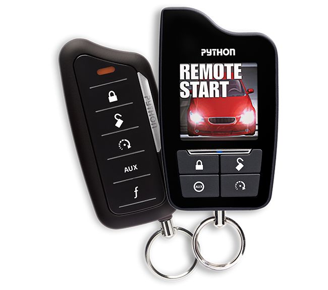 Python 5906P 2-Way Color LCD Confirming Remote Start/Alarm Combo w/ Siren 1 Mile Range Installation Included Grand Rapids, MI