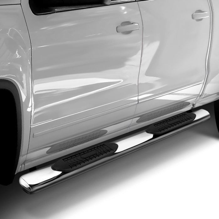 "TrailFX-TrailFX 6"" Oval Straight STAINLESS Nerf Bars 