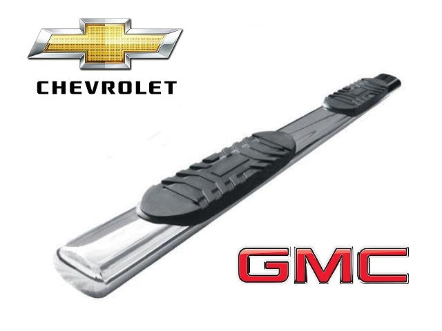 "TrailFX 6"" Oval Straight STAINLESS Nerf Bars 