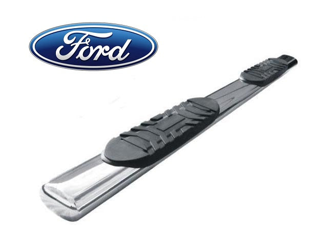 "TrailFX 6"" Oval Straight Nerf Bars Ford Trucks - www.AutoAccessoriesGuru.com"