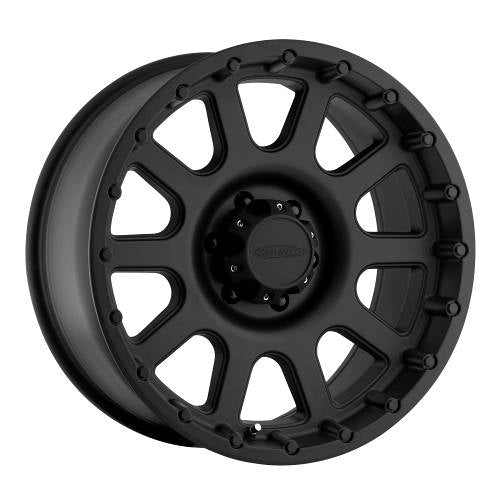 Pro Comp Alloy Wheels|Pro Comp USA-7032-2970-Series 7032 20x9 with 8 on 170 Bolt Pattern Flat Black Pro Comp Alloy Wheels-AutoAccessoriesGuru.com
