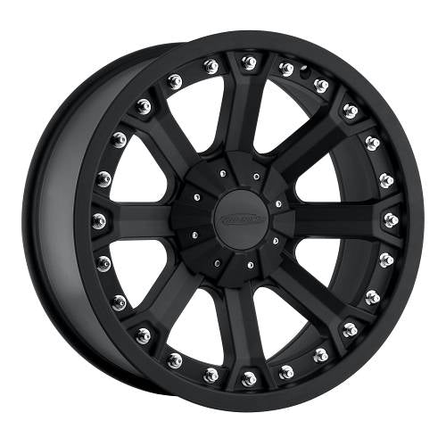 Pro Comp Alloy Wheels|Pro Comp USA-7033-7939-Series 7033 17x9 with 6 on 5.5 Bolt Pattern Flat Black Pro Comp Alloy Wheels-AutoAccessoriesGuru.com