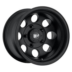 Pro Comp Alloy Wheels|Pro Comp USA-7069-6865-Series 7069 16x8 with 5 on 4.5 Bolt Pattern Flat Black Machined Pro Comp Alloy Wheels-AutoAccessoriesGuru.com