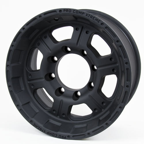 Pro Comp Alloy Wheels|Pro Comp USA-7089-6882-Series 7089 16x8 with 8 on 6.5 Bolt Pattern Flat Black Pro Comp Alloy Wheels-AutoAccessoriesGuru.com