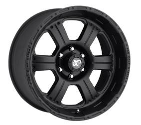 Pro Comp Alloy Wheels|Pro Comp USA-7089-7883-Series 7089 17x8 with 6 on 5.5 Bolt Pattern Flat Black Pro Comp Alloy Wheels-AutoAccessoriesGuru.com