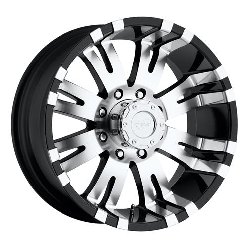 Pro Comp Alloy Wheels|Pro Comp USA-8101-7982-Series 8101 17x9 with 8 on 6.5 Bolt Pattern Gloss Black Pro Comp Alloy Wheels-AutoAccessoriesGuru.com