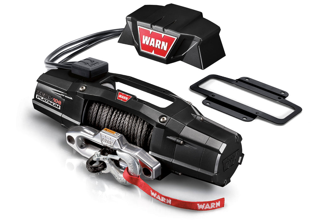WARN Industries-92193-ZEON Platinum Control Pack Relocation Kit WARN Industries-AutoAccessoriesGuru.com