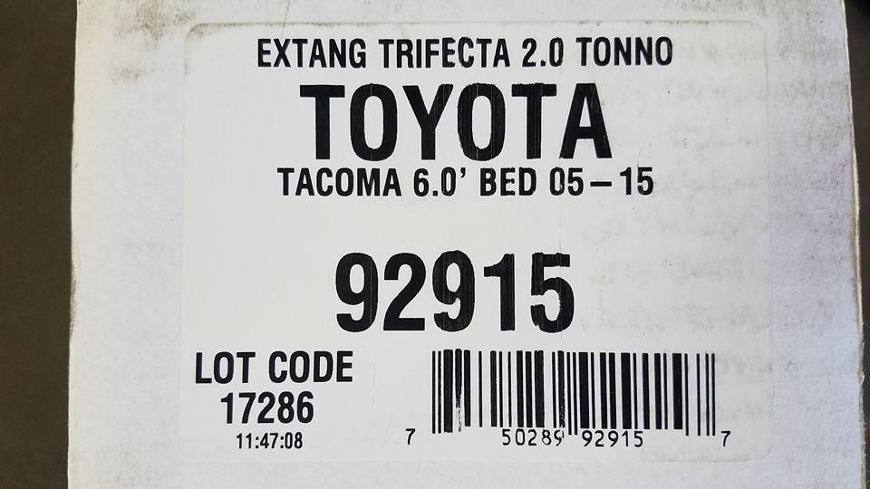 Extang 92915 Trifecta 2.0 Soft Folding Truck Bed Tonneau Cover Toyota