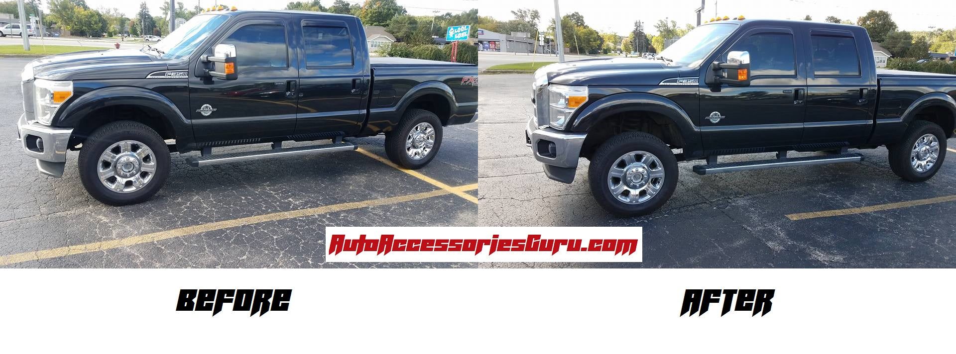 2017 F250 Leveling Kit >> Trailfx F15ll1 1 5 Front Leveling Kit 05 18 Ford F 250 350 4wd