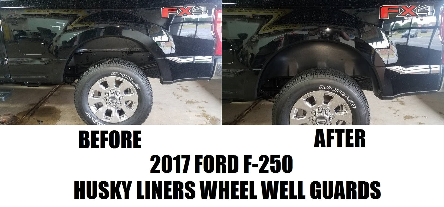 Husky Liners 79131 Wheel Well Guards Liners 2017 2018 F-250 F-350