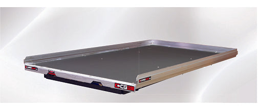 CargoGlide-CG1200-7548-Slide Out Truck Bed Tray 1200 lb capacity 70% Extension 6 Bearings Alum Tie-Down Rails Plywood Deck Fits most 6-6.75FT Short Beds-AutoAccessoriesGuru.com