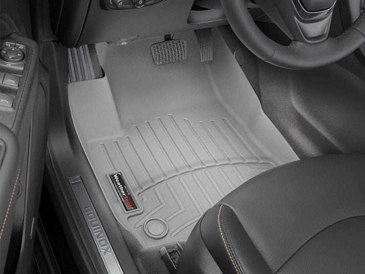 WeatherTech® 461176-1-2 Chevy Equinox 2018 GRAY Floor Liners Set