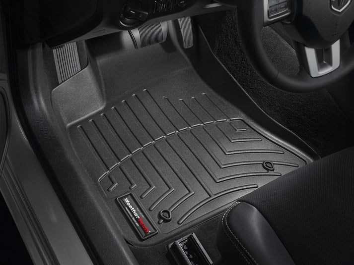 WeatherTech 444251 Digital Fit Floor Liners Dodge Charger AWD 2011 2012 2013 2014 2015 2016 2017 2018 11 12 13 14 15 16 17 18 Front Black Mats
