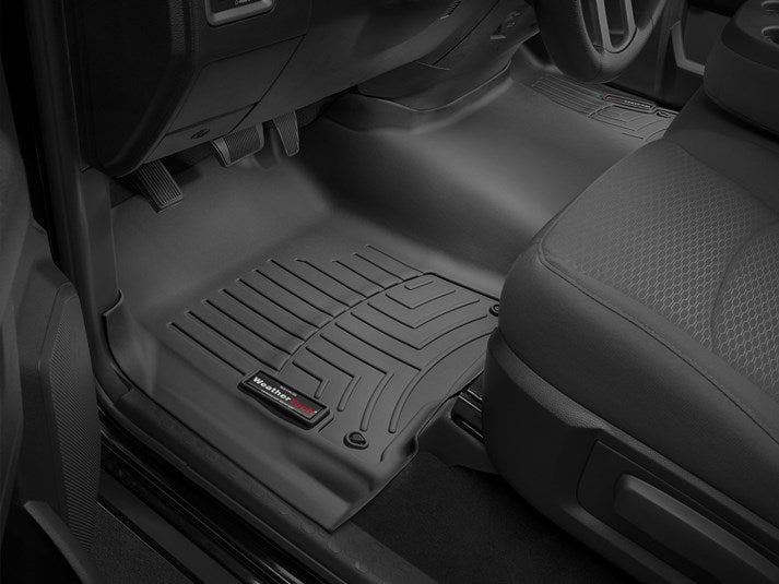 WeatherTech® 444641-442162 RAM 1500/2500/3500 Quad Cab 12-18 BLACK Full Set