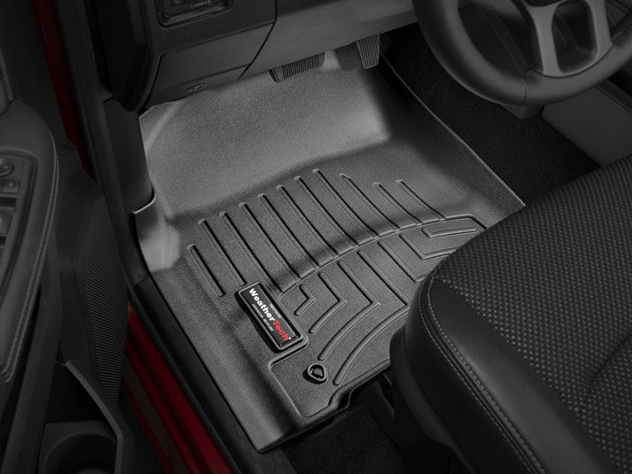 WeatherTech® 444781-442163 RAM 1500/2500/3500 Crew 12-18 BLACK Full Set