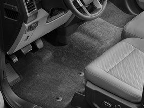 WeatherTech® 446971 Ford F-150 15-17 FRONT/BLACK Floor Liners